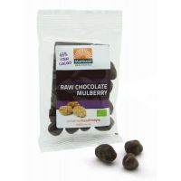 Bio Mulberries Raw Choco Snack Mattisson