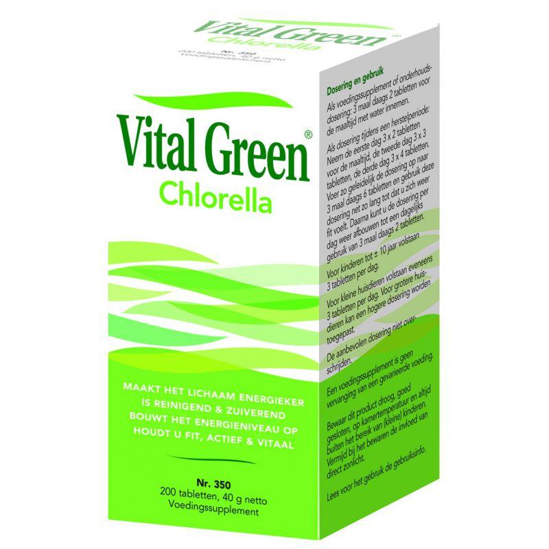 voedingssupplement chlorella
